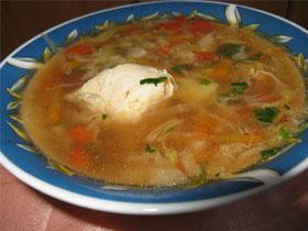 Суп с пельменями по-персидски рецепт приготовления