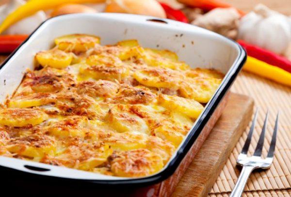 Картошка с мясом в духовке: 5 рецептов с фото