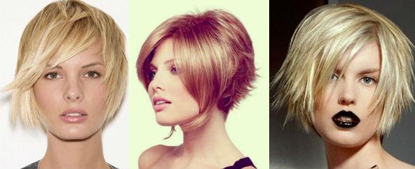 Фото самых стильных стрижек для короткие волосы, Осень ...