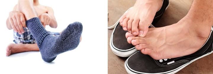 Почему чешутся пятки ног по ночам