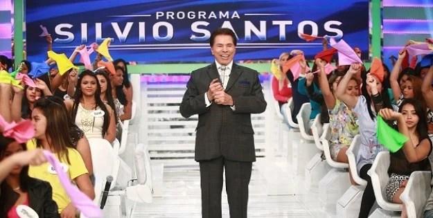 Silvio Santos cobra casamento da filha (Foto: Roberto Nemanis/ SBT)