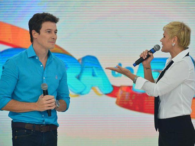 A apresentadora conversou com Rodrigo Faro (Foto: Divulgação)