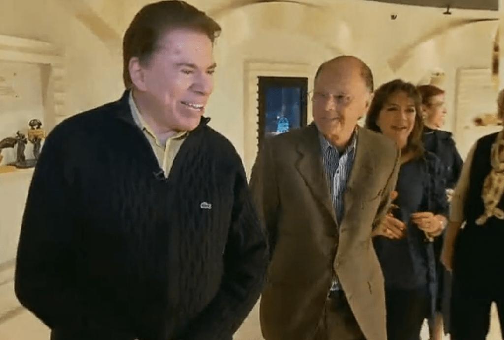 Silvio Santos e Edir Macedo se entrevistaram, um ao outro (Foto divulgação)