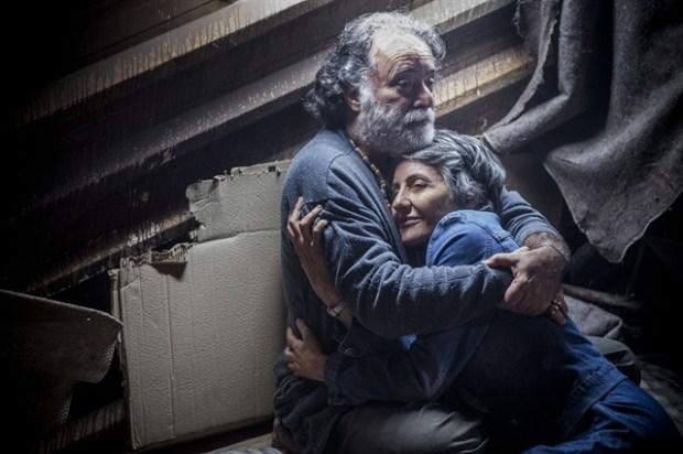 Zé Maria (Tony Ramos) e Djanira (Cassia Kis) (Foto: Globo/Renato Rocha Miranda)