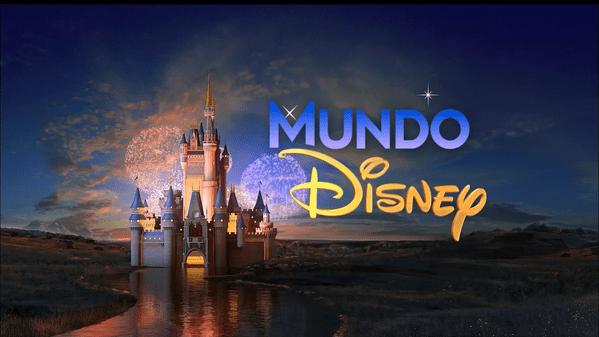 """Logo do """"Mundo Disney"""" (Foto: Reprodução / SBT)"""