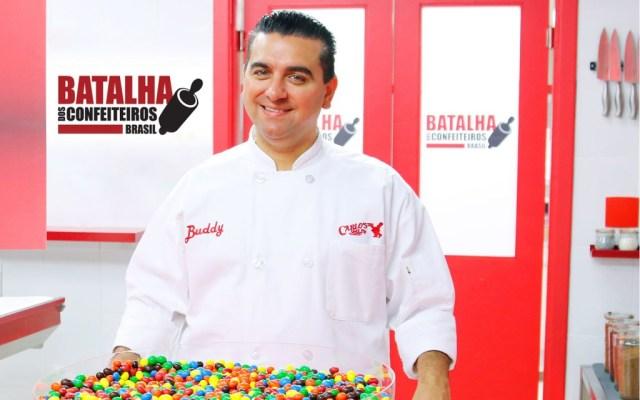 Buddy Valastro na Record (Foto: Divulgação)