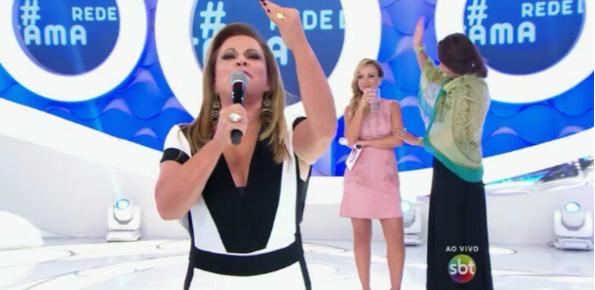 """Christina Rocha foi destaque no programa """"Eliana"""" (Foto reprodução SBT)"""