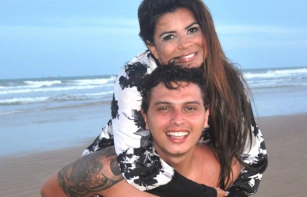 Mara e o namorado (Foto: Divulgação)
