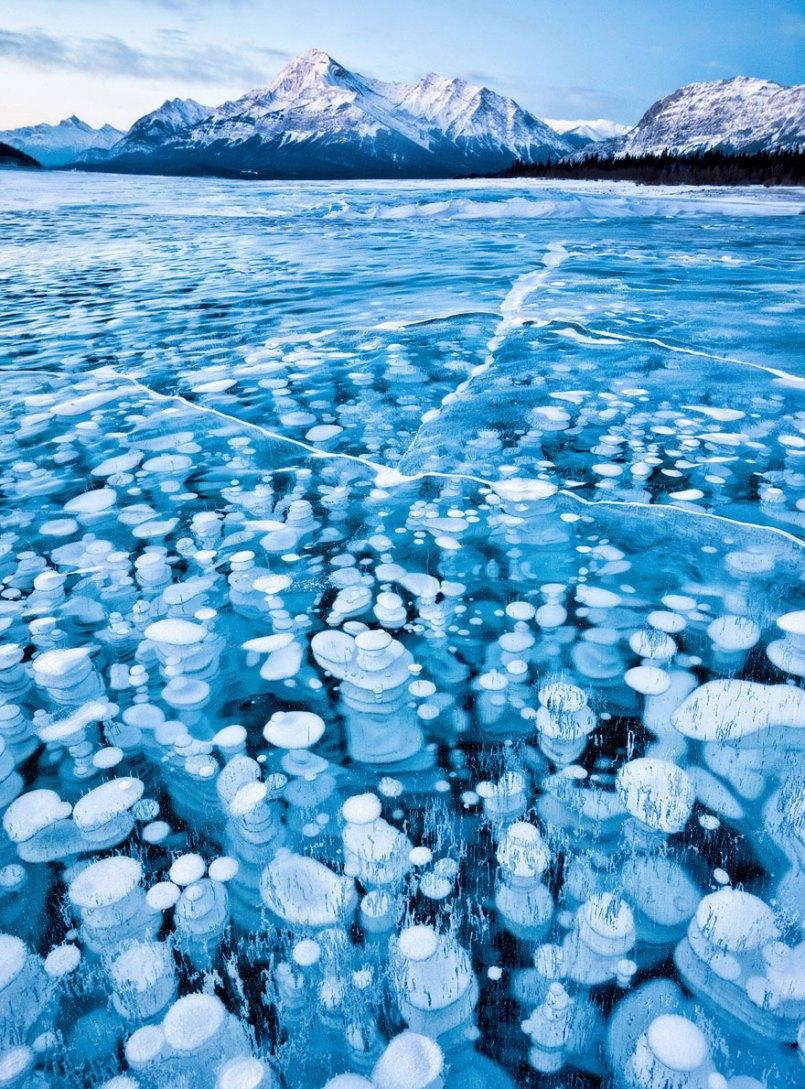 красивый лед