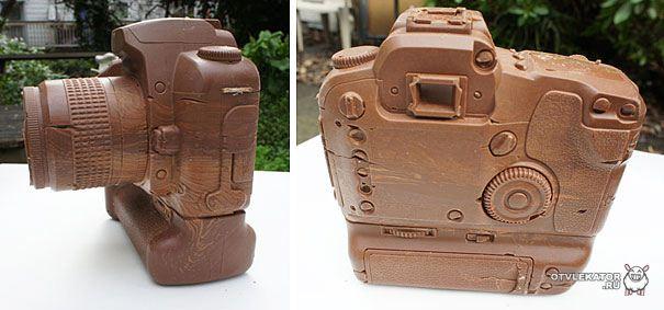 Шоколадный Canon D60