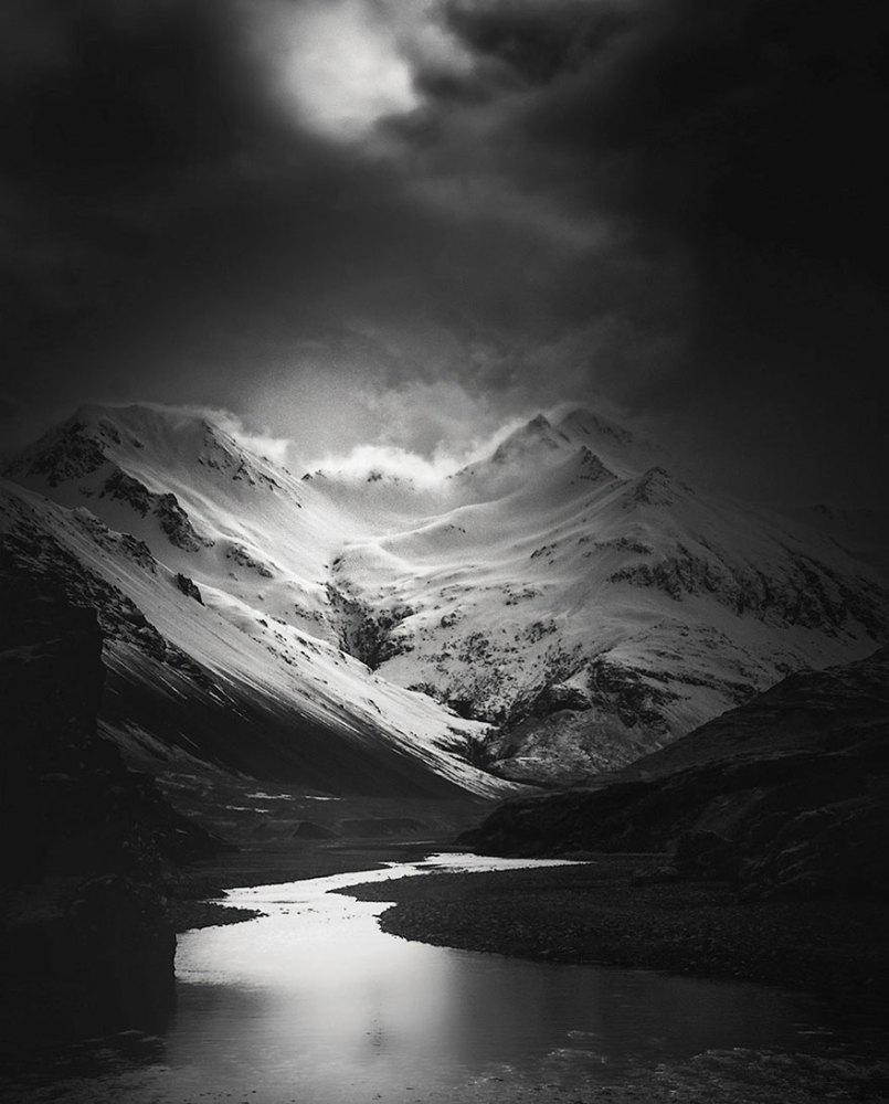горы в Исландии