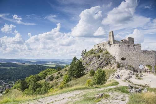 Zamek w Cachticach (1)