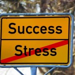 Stress to Success Sign