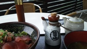 江ノ島での昼食