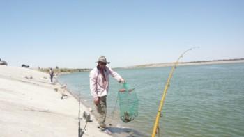 Рыбалка на Коксарае
