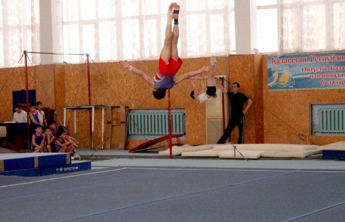 Великолепный прыжок в исполнении Константина Руденко.
