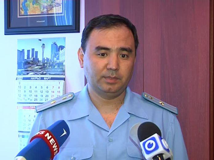 Заместитель прокурора Аль-Фарабийского района Алмас Менлибаев