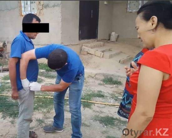 Житель Толеби задержан с килограммом марихуаны