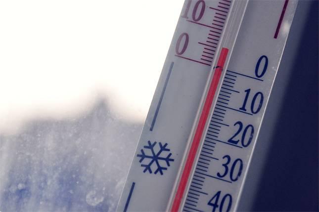 Потепление в феврале. Термометр