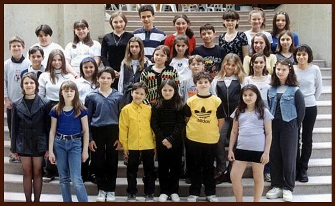 Пето основно училище Детска оперна студиа 2000 год.