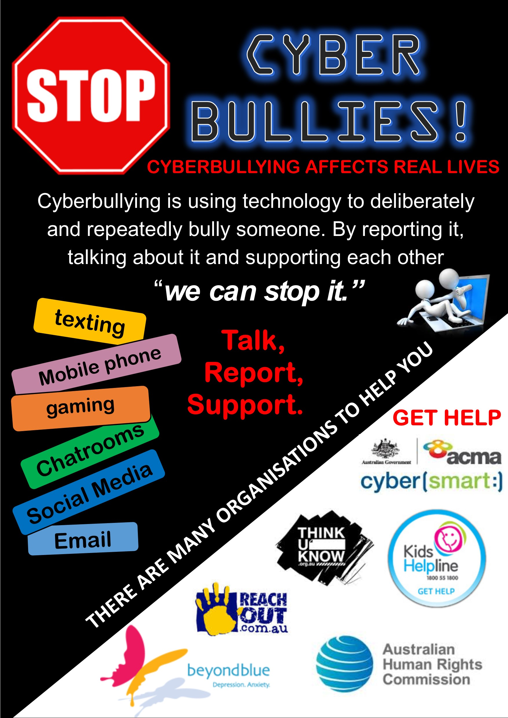 Bullying Poster Assignment