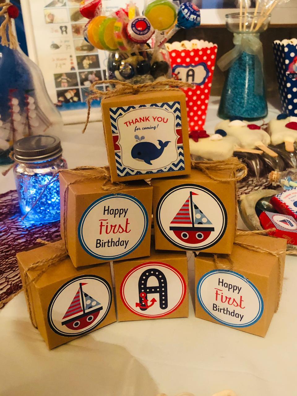 Birthday crafts Anas 7