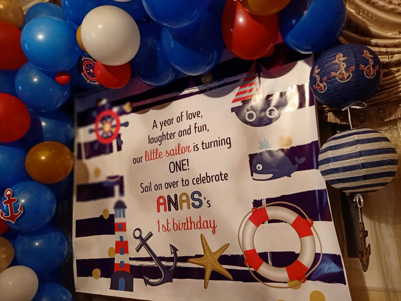 Birthday crafts Anas 9