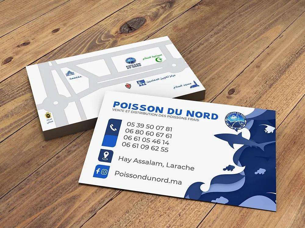 Carte de Visite Portfolio Oubel Design