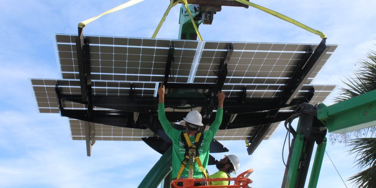 Solar Sculpture Installed at St. Cloud's Lakefront Park