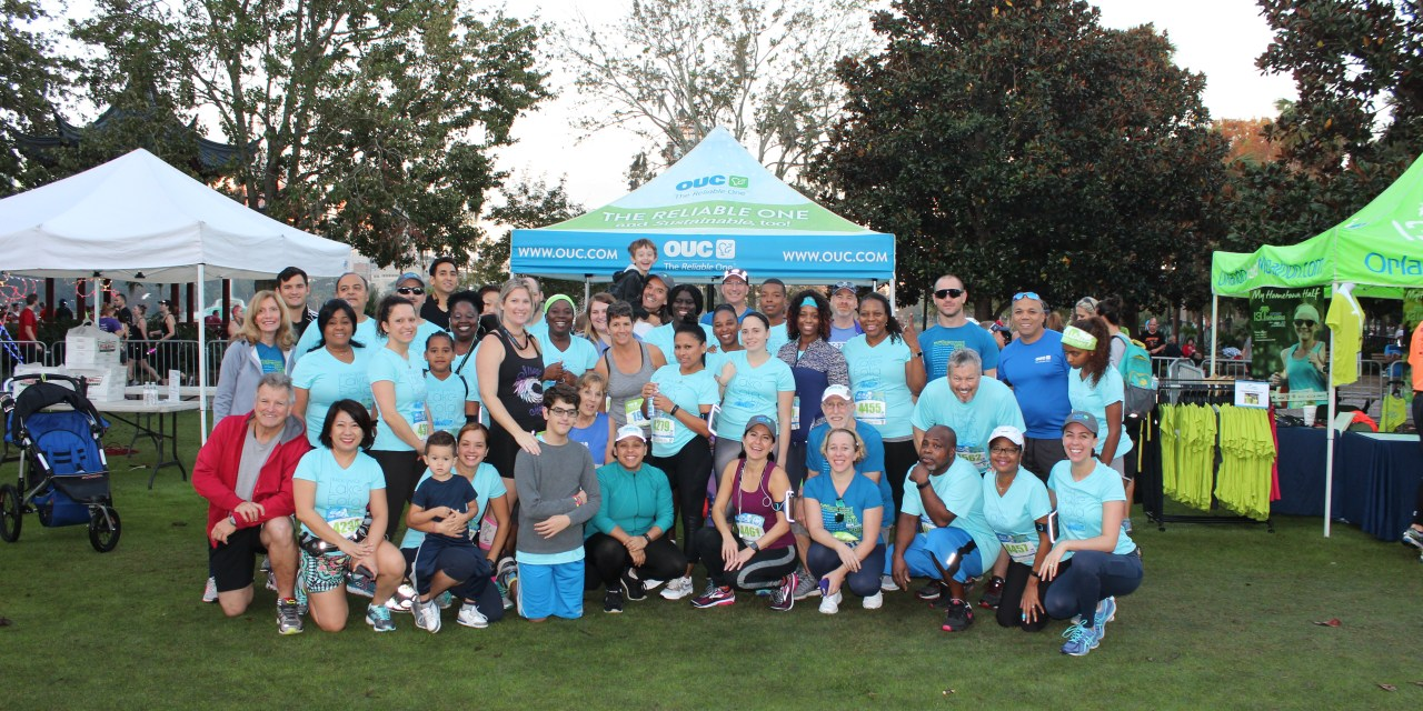 4 Ways This Year's OUC Orlando Half Marathon Was More Sustainable