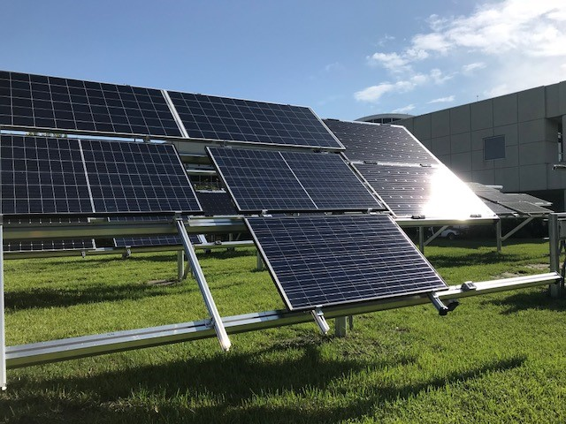 New Pershing Solar Test Site Measures Renewable Energy Future