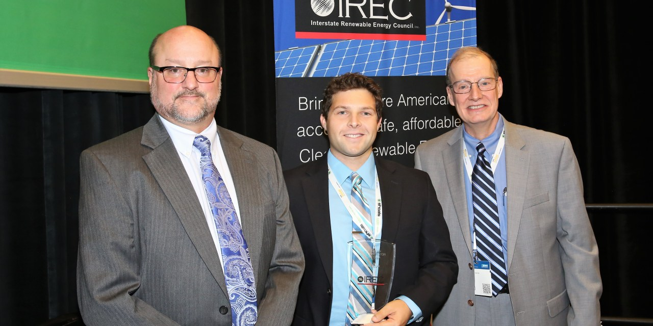 OUC Employee Receives Young Clean Energy Innovator Award