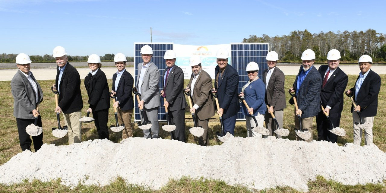 OUC, Florida Municipal Utilities Break Ground on Major Solar Project