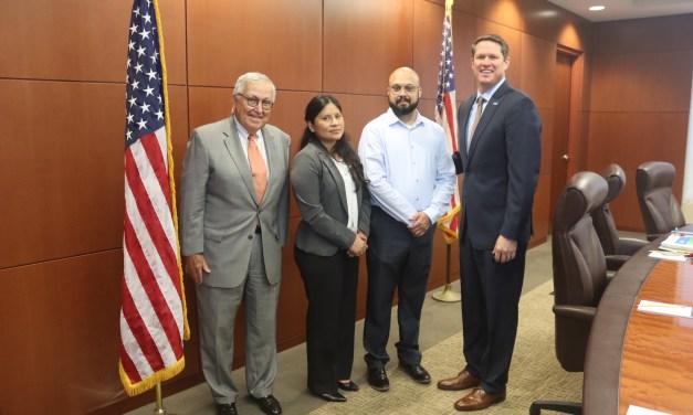 Alejandra and Erick Ortega, U.S. Navy Veterans