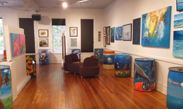 Water Color Project Rain Barrel Virtual Auction Now Live