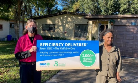 EFFICIENCY DELIVERED SCORES 1,000TH PARTICIPANT