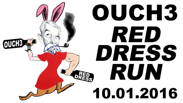 OUCH3 Red Dress Hash is Saturday, October 1, 2016 in Oxford, Mississippi