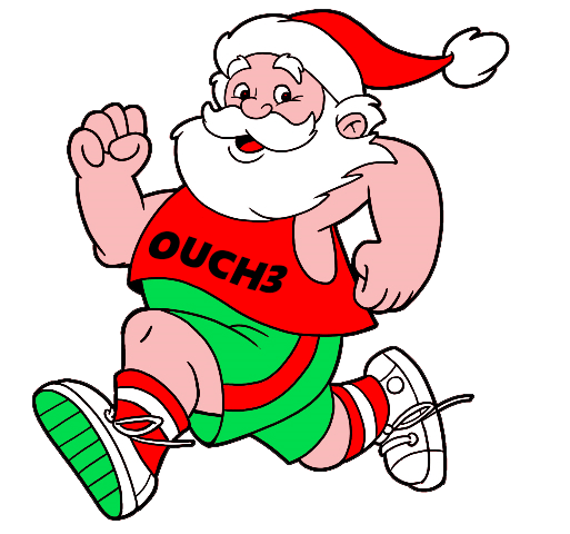 Saturday, December 21, 2019… OUCH3 Santa Rampage!