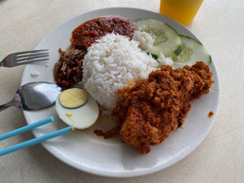 マレーシアのビーフルンダン