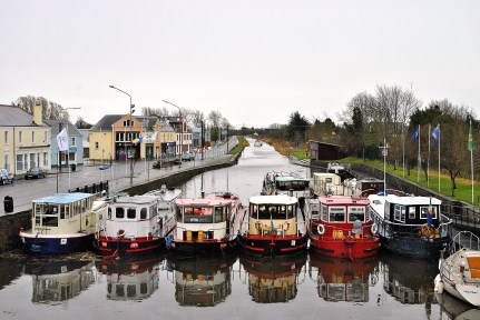 14 April 2013, Kilckock Harbour, Royal Canal, Ireland