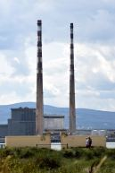 My favourite twins!! The Poolbeg Chimneys, as seen from North Bull Island, Dublin, Ireland