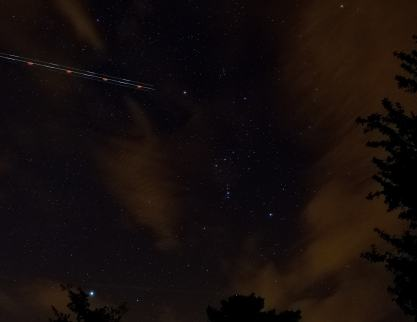 Orion and the Dog Star... early October morning as seen from Ireland!