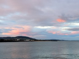 Sunset over Arklow Bay... Ma Nature sure knows ho to add colour!