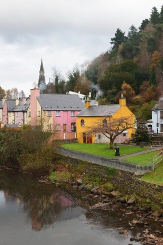 Want to relax? Take a stroll down the Avoca river in the Avoca village! Co Wicklow, Ireland