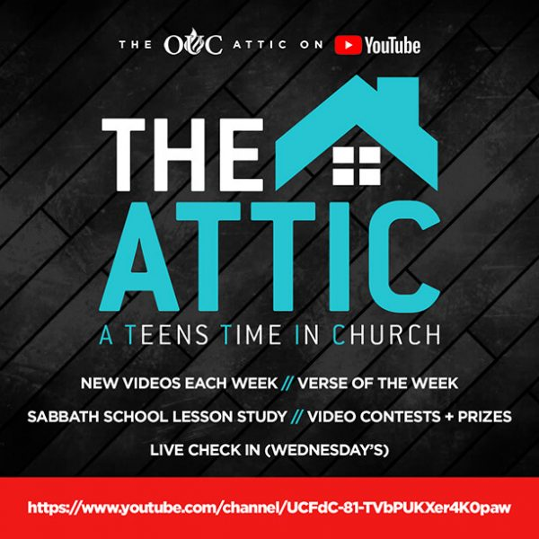 The Attic YouTube- Social Flyer