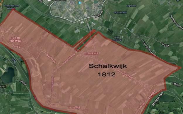 Gemeente schalkwijk in 1812
