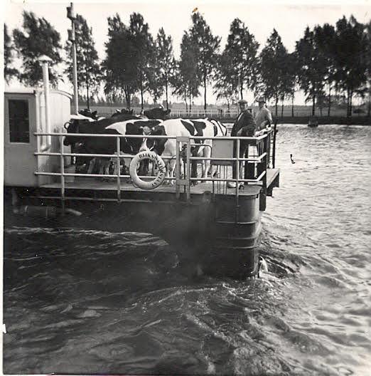 Veerwagen Houten in 1965