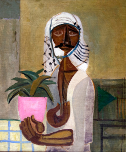 Jawad Saleem, Untitled (The Gardner) c.1950
