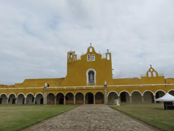 Cathédrale de Izamal, Yucatan, Mexique