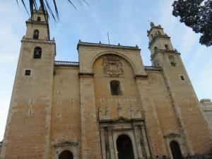 Cathédrale Merida Yucatan Mexique